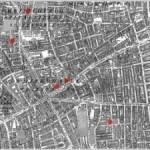 Jack the Ripper Whitechapel Murders Map